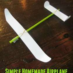 Simple Homemade Airplane