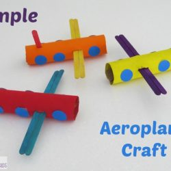 Simple Tube Airplane