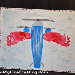Footprint Airplane Craft