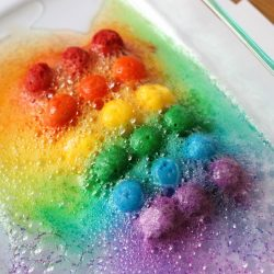 Scented Rainbow Science and Sensory Play