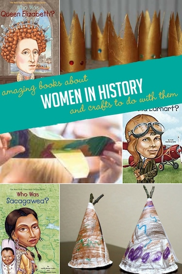 women's history books and activities to go with them