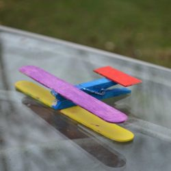 Craft Stick Airplane