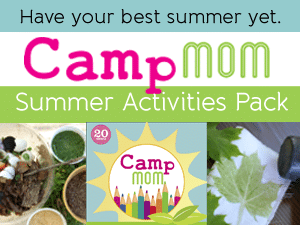 Camp Mom: Summer Activities Pack filled with crafts and activities (and planning it all) for kids to do this summer