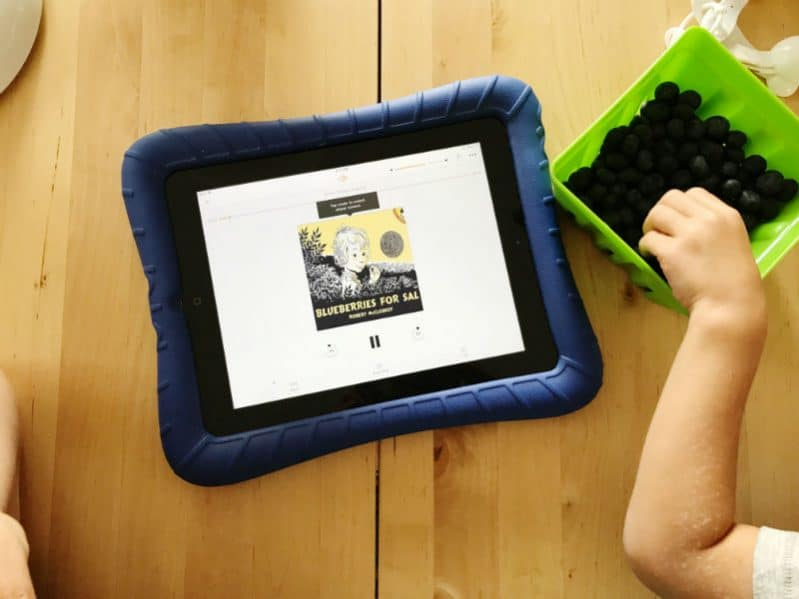 What a great idea! Make your own reading activity with audiobooks from Audible.