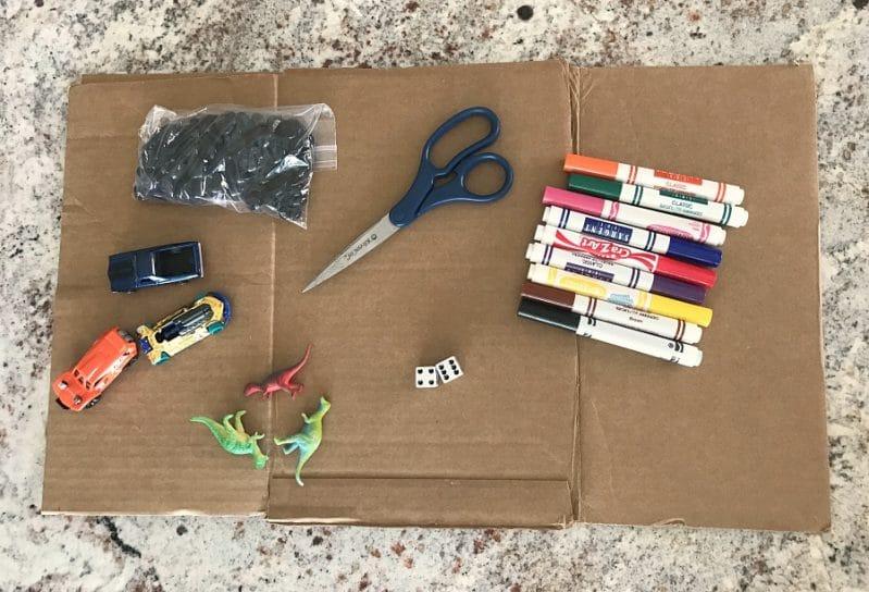 DIY Board Game Materials