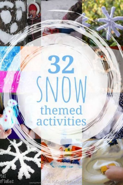 32 snow activities for kids to do in the winter