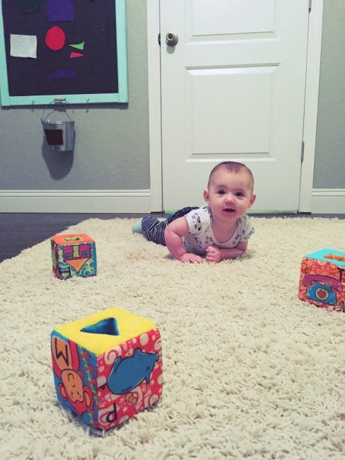 Crawl and learn with your baby to develop key gross motor skills