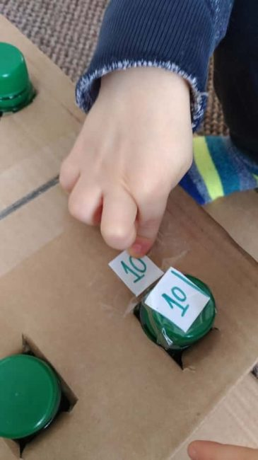 Build your own DIY number matching box