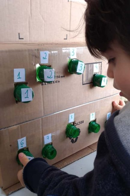 Build number recognition with a DIY number matching box