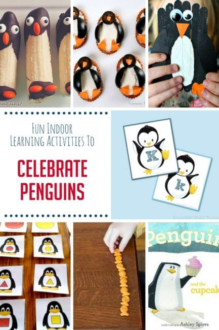Penguin activities are perfect for a fun day of winter learning!