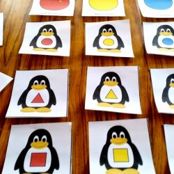 Practice shapes and colors with these printables from Welcome to Mommyhood
