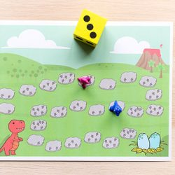 Dinosaur Counting Game- Fun Learning for Kids