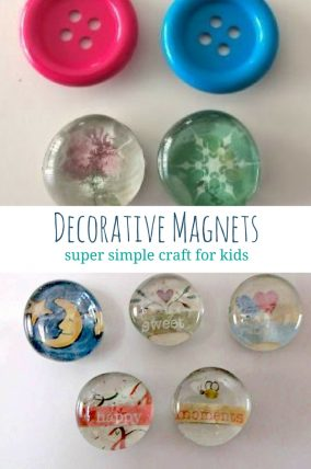 Perk up your fridge with decorative magnets
