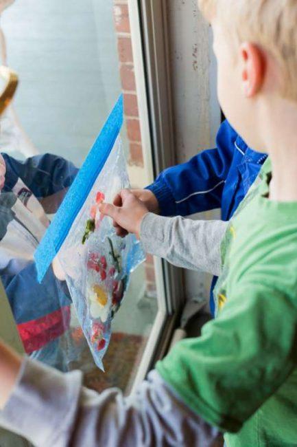 Exploring a nature sensory bag