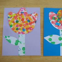Spring Kindergarten Art Projects