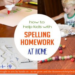 Hands On As We Grow- 21 Obvious and Crazy Ways to Pracice Spelling Words