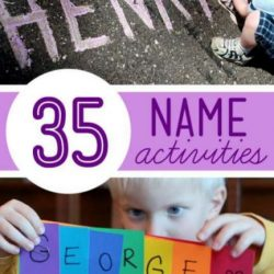 Hands On As We Grow- 35 Name Activities