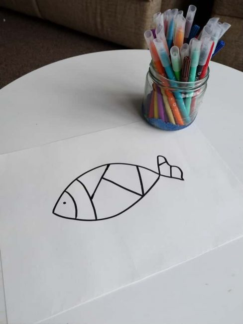 Easy Zentangle Drawing Inspired Art Activity For Kids Hoawg