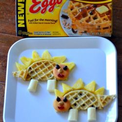 Make breakfast dino-mite with a waflesaurus from Mom on Time Out