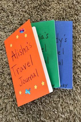 Travel Journal Keepsake Craft