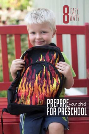 Make the first day easy with these easy ways to prepare your child for preschool!