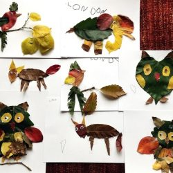 Leaf Animals- Crafty Morning