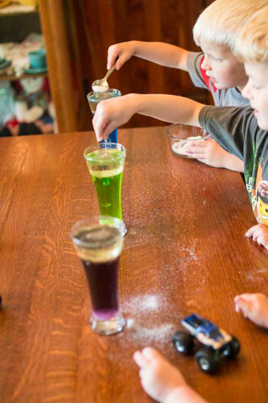 All the kids loved learning how to make a lava lamp without Alka Seltzer