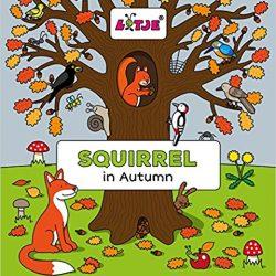 Squirrel in Autumn by Lizelot Versteeg