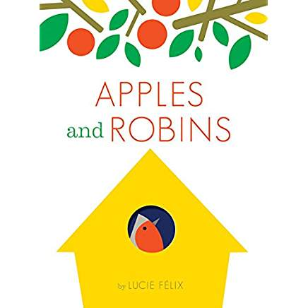 Apples and Robins is one of our favorite books about shapes