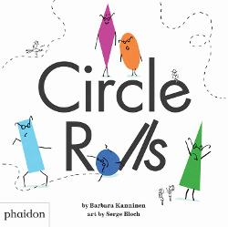 Circle Rolls is a great book about shapes for preschoolers