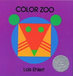Color Zoo is one of our favorite books about shapes