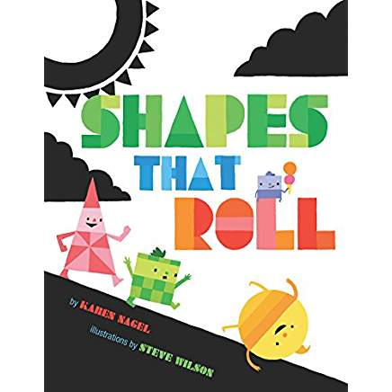 Shapes That Roll is one of our favorite books about shapes!