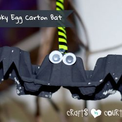 Another Egg Carton Bat- Crafts by Courtney
