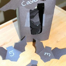 Bat Cave Letters and Numbers- Mom Explores the Smokies