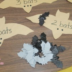 Bat Counting Activity- Mom to 2 Posh Lil Divas