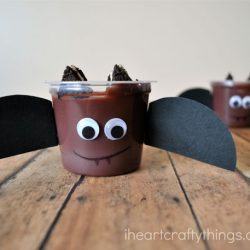 Bat Pudding- I Heart Crafty Things