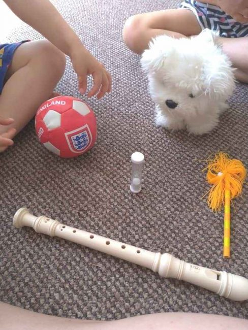 Use an egg timer in three different ways to engage with your kids!