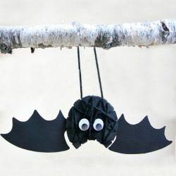Yarn Wrapped Bat- Housing a Forest