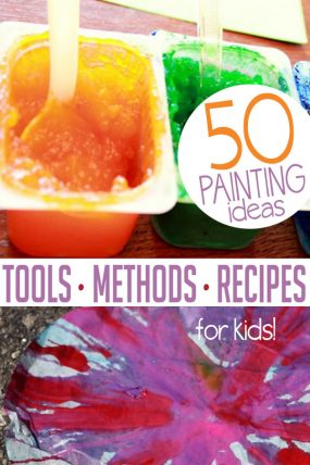 Super creative and easy painting ideas for kids to create!