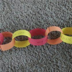 thankful chain pattern