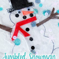 Jumbled Snowman- Playground Park Bench