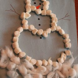 Marshmallow Snowman- Hands On As We Grow