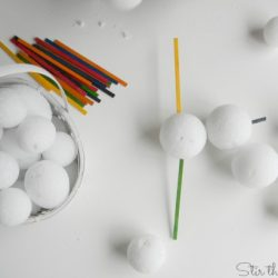 Snowball Decoration- Stir the Wonder