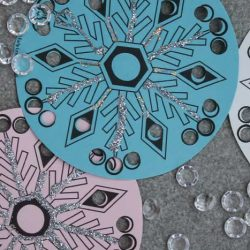 Snowflake Cutout- Early Learning Ideas