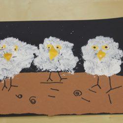 Snowy Owl Babies- Creative Tots