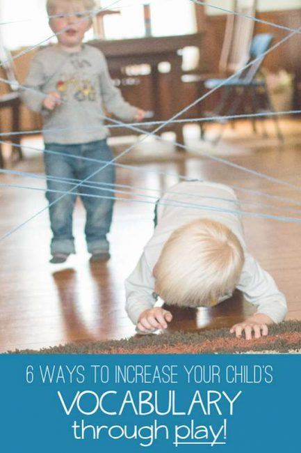 Tips to increase toddler's vocabulary through play