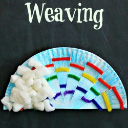 Rainbow Weaving- The Typical Mom