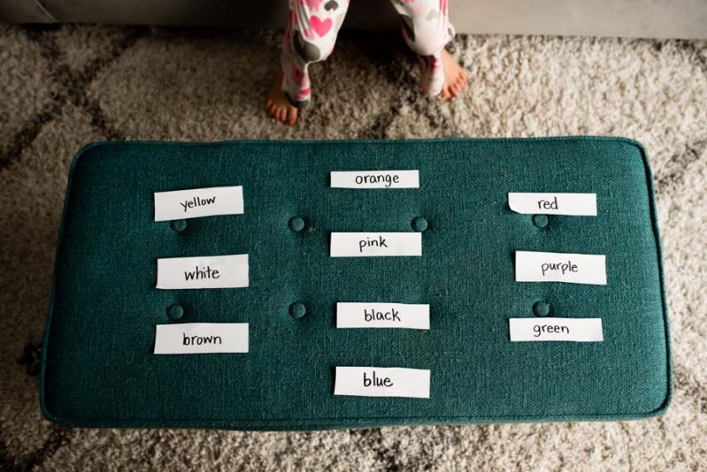 Make your next activity a fun race to practice sight words!