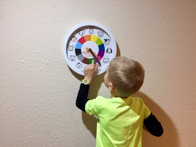 Try a cool preschool watch to help your child tell time and take turns with siblings or friends!