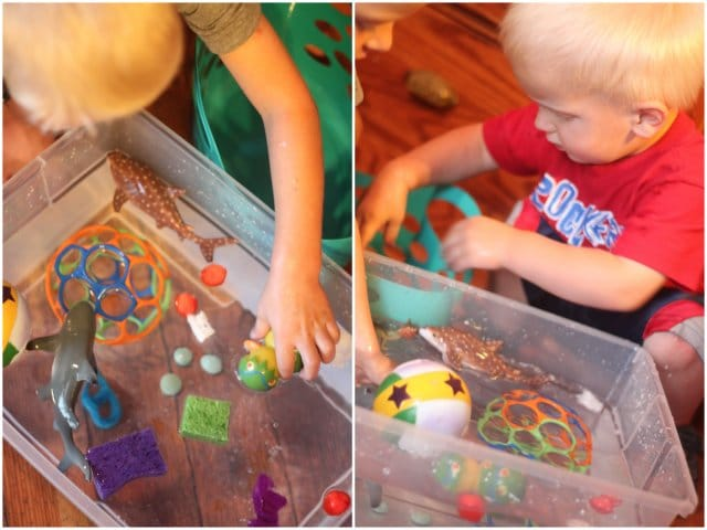 Toddler & Preschooler Water play
